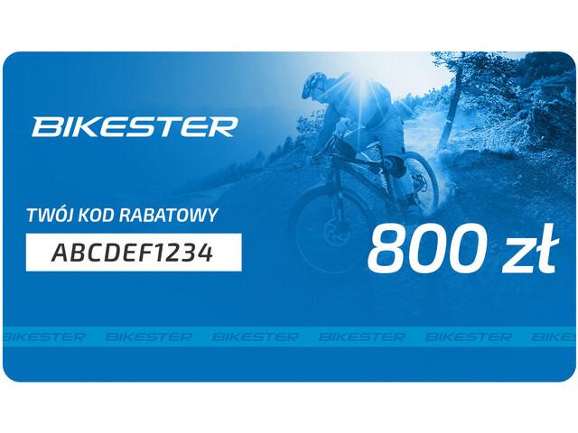 Bikester Karta upominkowa, 800 zł